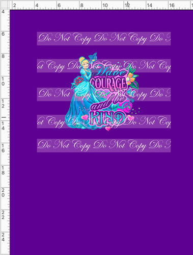 CATALOG PREORDER R54 - A Dream Is A Wish - Kind - Panel - Dark Purple - CHILD