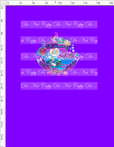 CATALOG - PREORDER R54 - A Dream Is A Wish - Dream - Panel - Violet - CHILD