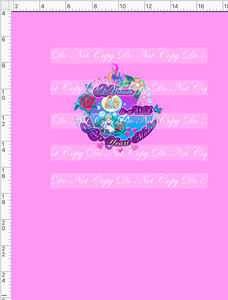 CATALOG - PREORDER R54 - A Dream Is A Wish - Dream - Panel - Pink - CHILD