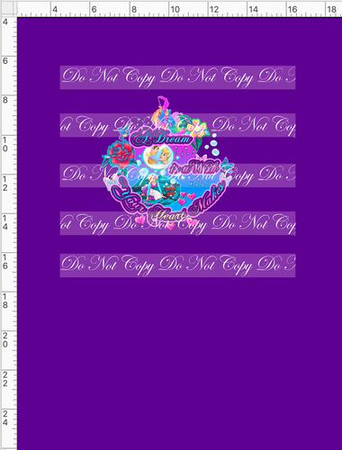 CATALOG - PREORDER R54 - A Dream Is A Wish - Dream - Panel - Dark Purple - CHILD