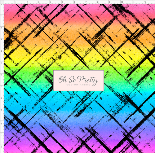 PREORDER - Always Available - Crosshatch - Rainbow