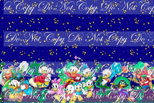 PREORDER R55 - Duck Adventures - Double Border