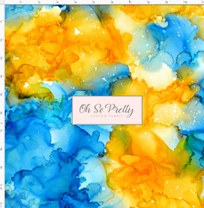 PREORDER - Always Available  - Alcohol Inks - Blue and Orange