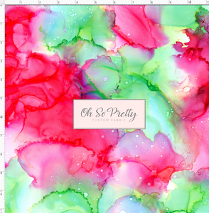 PREORDER - Always Available  - Alcohol Inks - Pink and Green