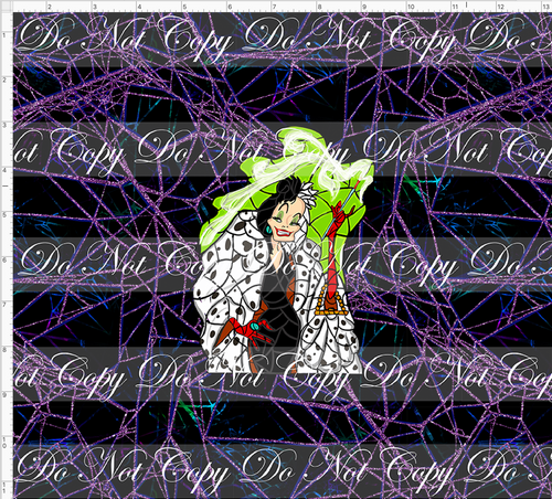 Copy of PREORDER R67 - Stained Glass Villains - CUP CUT - Cruella