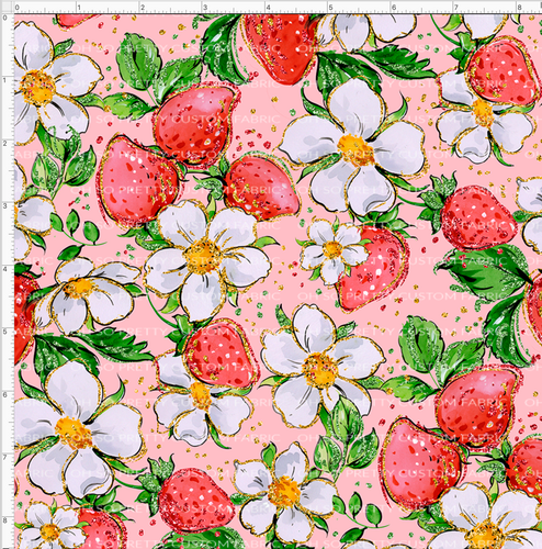 Retail Strawberry Kids Floral-Pink