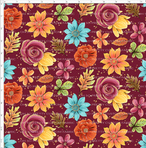 Retail Fall Flash Mulberry Floral