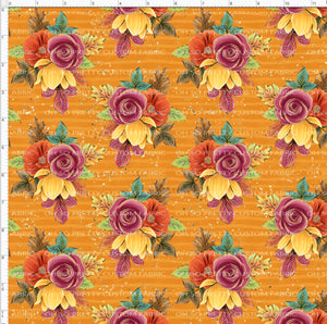 Retail Fall Flash Mustard Floral