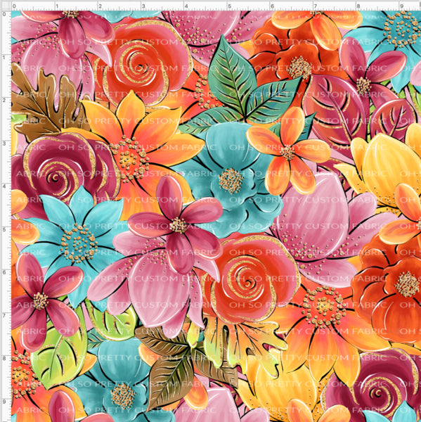 Retail Fall Flash Stacked Floral