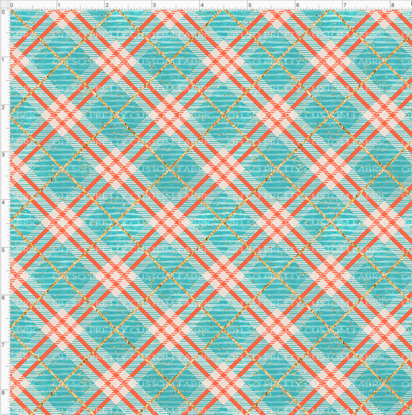 Retail Fall Flash Teal Plaid