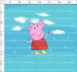 CATALOG R33 - Pink Pig - One Pig - Blue Panel