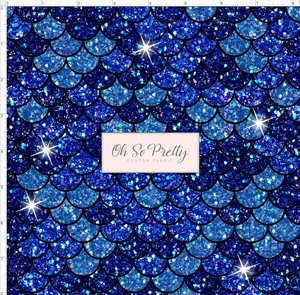 Retail Mermaid Scales-Dark Blue