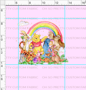 R34 PREORDER-Silly Bear-Pink Panel