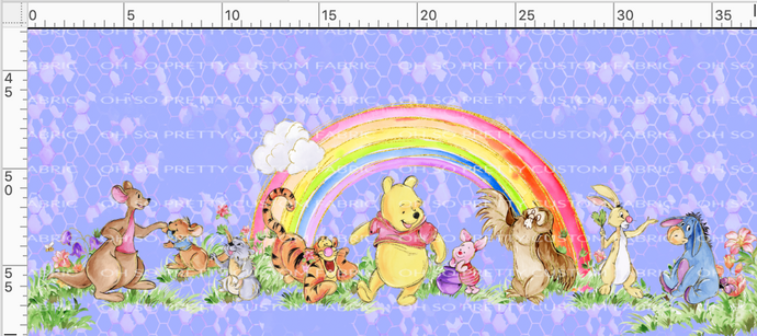 R34 PREORDER-Silly Bear-Double Border