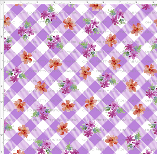 Retail Rabbit's Tale-Purple Gingham