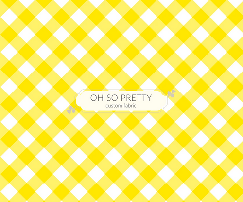 PREORDER - Always Available - Summer Essential Yellow Gingham