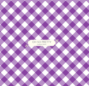 Always Available for Preorder- Summer Essential Purple Gingham