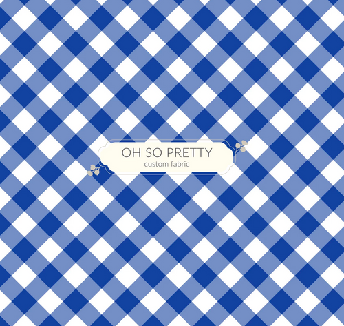 Always Available for Preorder- Summer Essential Blue Gingham