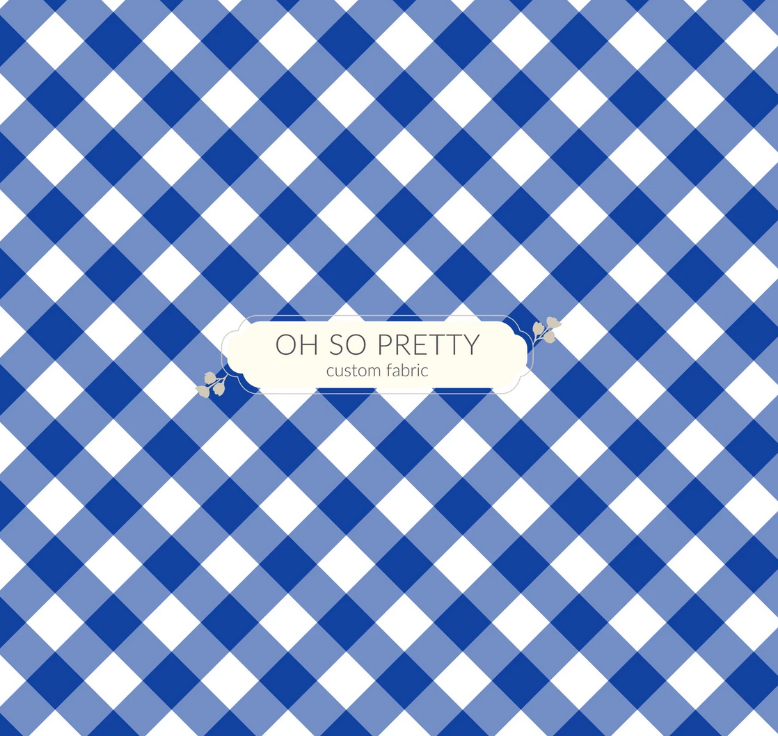 PREORDER - Always Available - Summer Essential Blue Gingham
