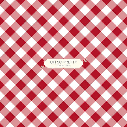 Always Available for Preorder- Autumn Essentials Red Gingham
