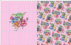 CATALOG R38 - Flower Child - Toddler Topper - Pink