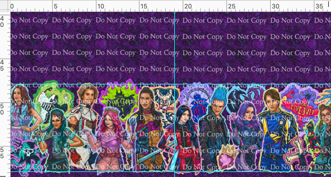 CATALOG R39 - Bad Apples - Purple - Double Border