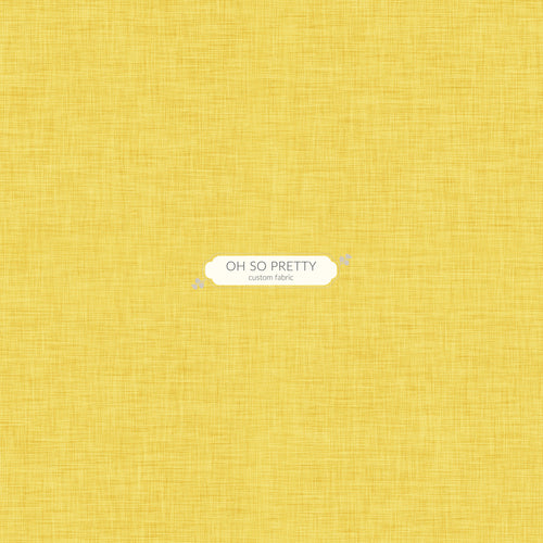 PREORDER - Always Available - Golden Yellow Linen