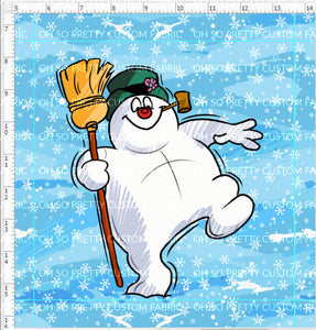 Retail Jolly Snowman Panel