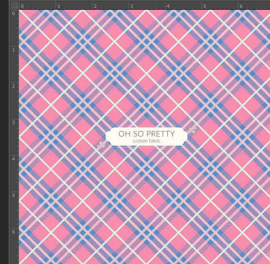 Retail Storybook Rabbit Pink Plaid
