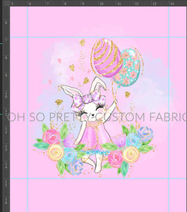 Retail Easter Fairies bunny on white panel