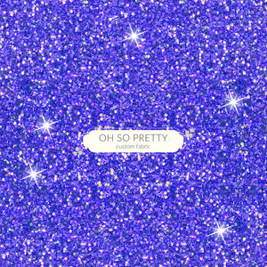 Retail Superstar Blue/Purple Glitter