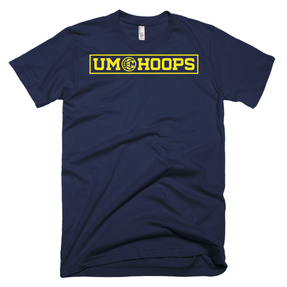 UM Hoops American Apparel T-Shirt (Navy)