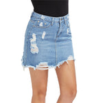 SURFER WAVES DEMIN SKIRT