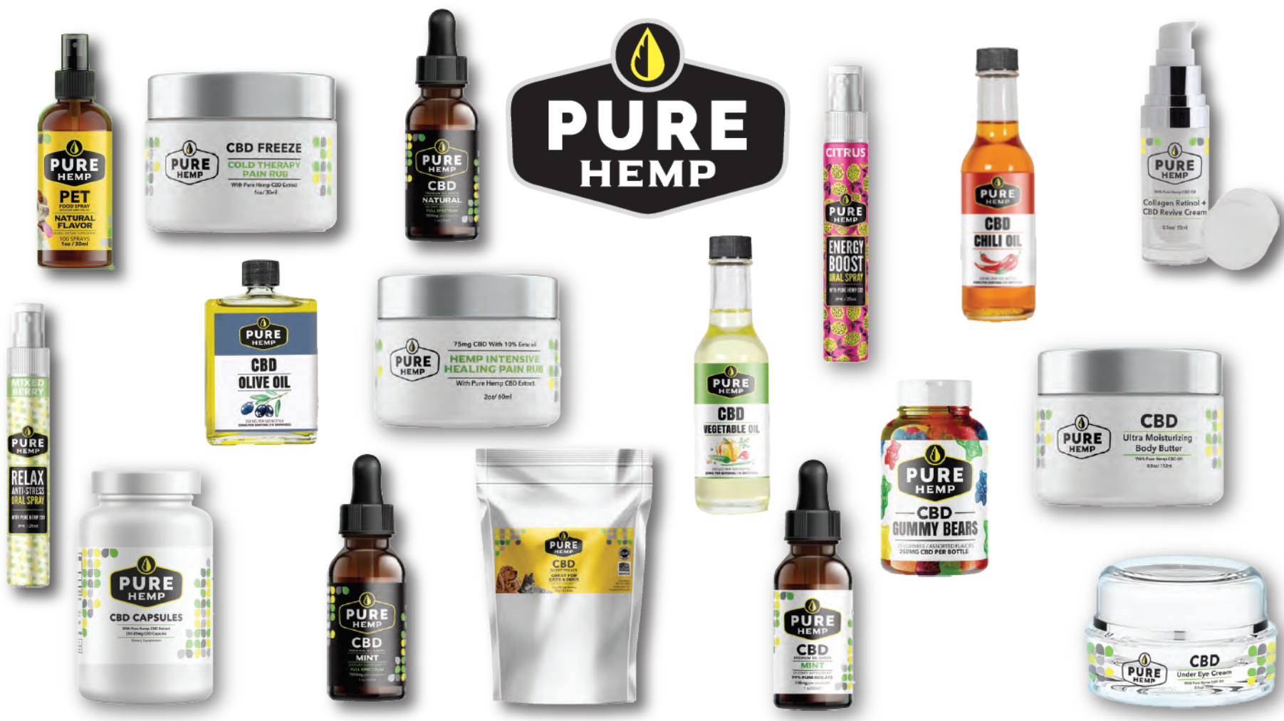 Wholesale Pure Hemp Products