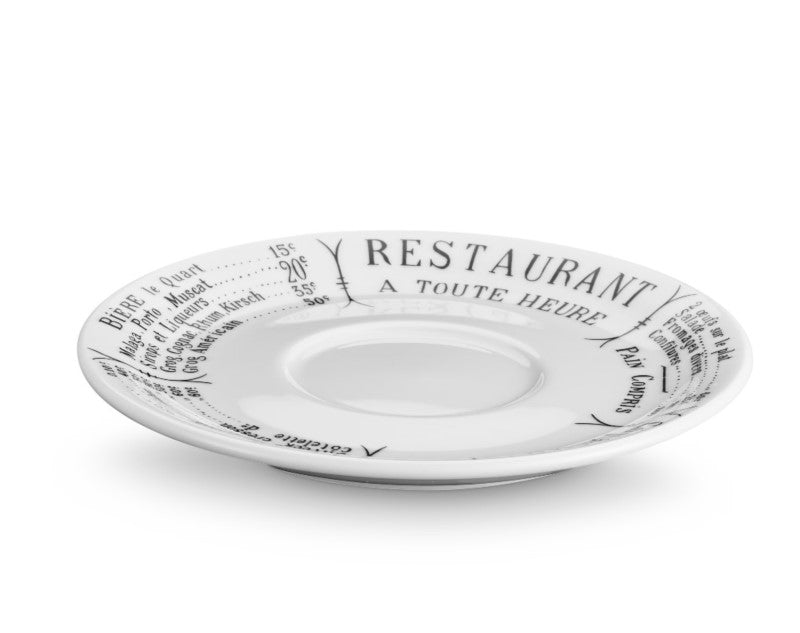 Brasserie Saucers, Set of 4