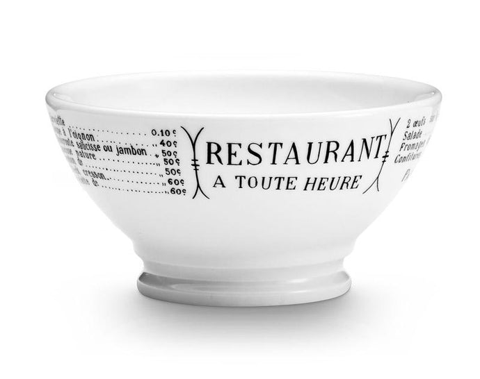Brasserie Cafe au Lait Bowl, Set of 4