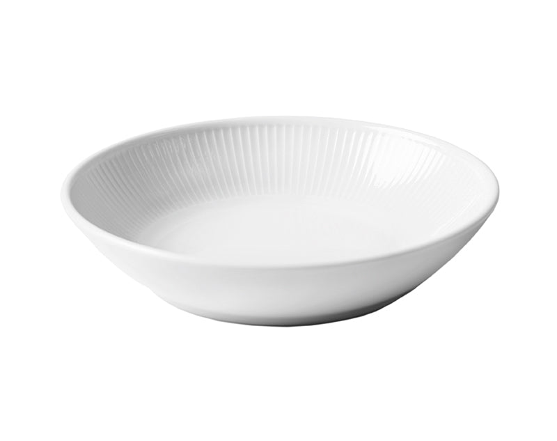 Plissé Shallow Bowl, Set of 4