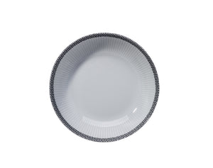 "Ville de Paris, 7.75"" Plissé Soup Plate, Set of 4"