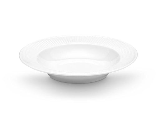 Plisse Soup Plate, Set of 4