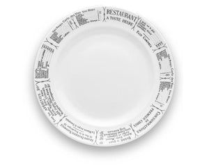 Brasserie Plates, Sets of 4