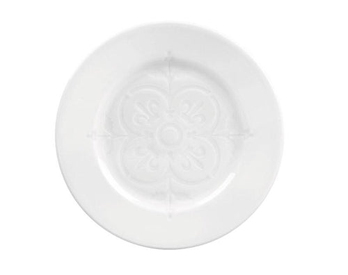 Montmartre Plates - Embossed Center, Set of 4