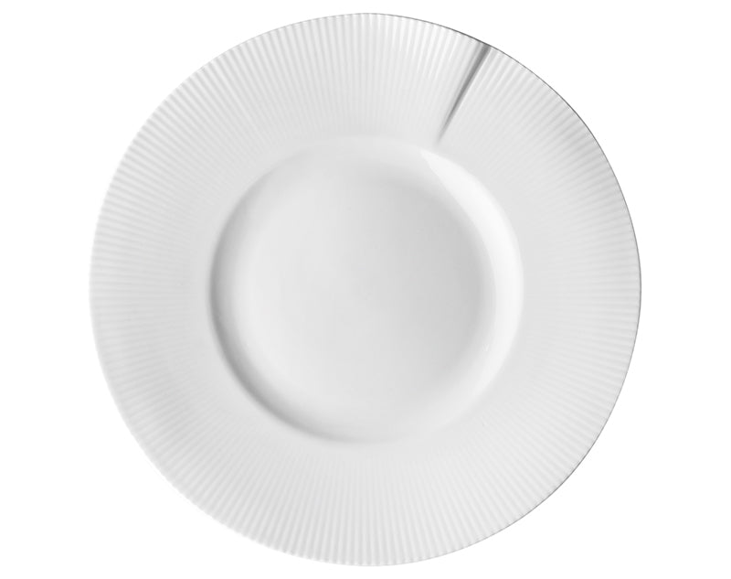 Canopée Large Rimmed Plate, Set of 4
