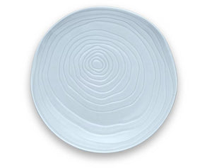 "Teck 11"" Sky Blue Dinner Plates, Set of 4"