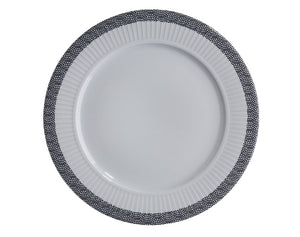 Ville de Paris, Plissé Plates, Sets of 4