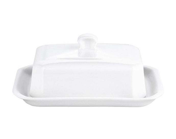 Large Butter Tray with Cover, European Style