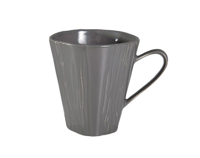 Teck Steel Grey Mugs, Set of 4