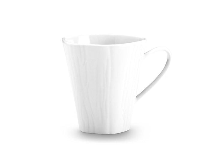 Teck White Mugs, Set of 4