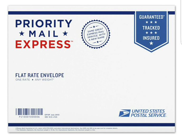 Priority Mail Express (1-Day Shipping)
