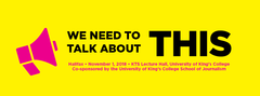 Copy of We Need to Talk About This: Halifax Student Event Ticket