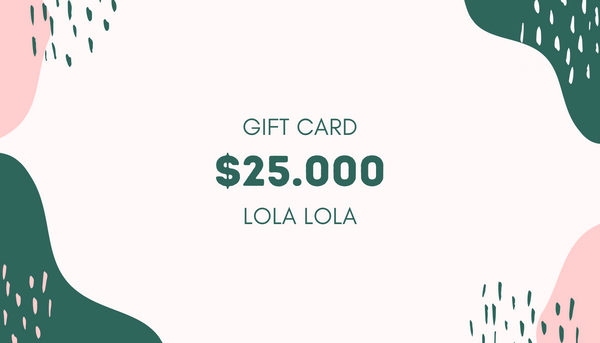 Gift Card - $25.000